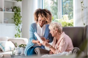 How is live-in care different?